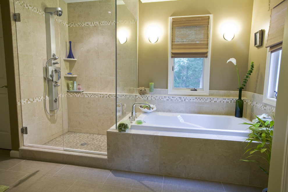 Wellness Bad Badkamer ~ Losse douche en bad in kleine badkamer  Badkamer Courant