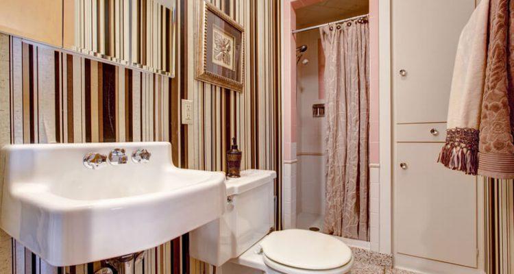 badkamer behang