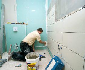 badkamer opbouwen from scratch