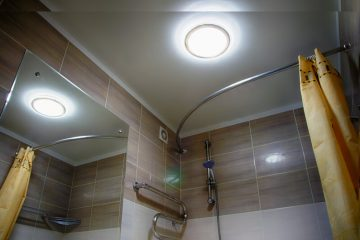 badkamer plafond schilderen