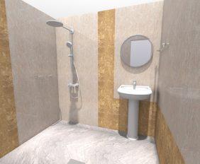 3d ontwerp badkamer