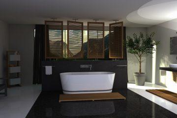 badkamer industriële look