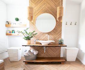 Een natuurlijke badkamer