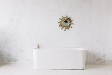 Een vrijstaand bad