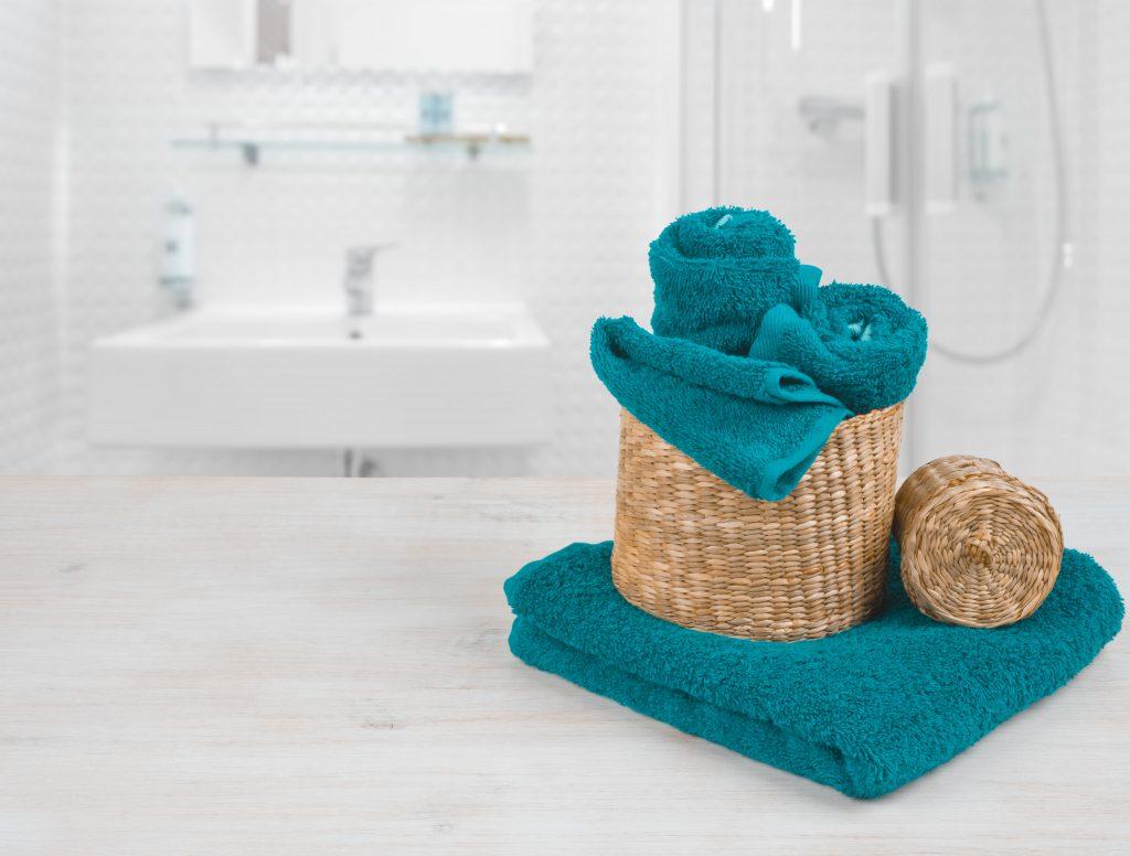 handdoeken creatief opbergen