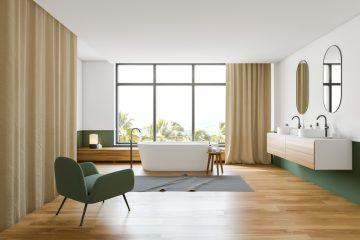 Groen in de badkamer
