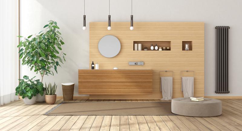 het verbouwen van de badkamer