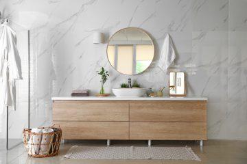 ruimte creëren in badkamer