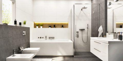moderne badkamer inrichten