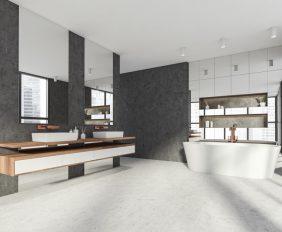 badkamervloer beton